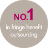 NO.1 in fringe benefit outsoucing