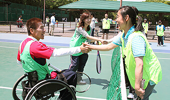 Image of Angel Tennis Cup(Wheelchair tennis tournament)